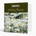 Holiday Recipes Binder Add Your Name recipe book
