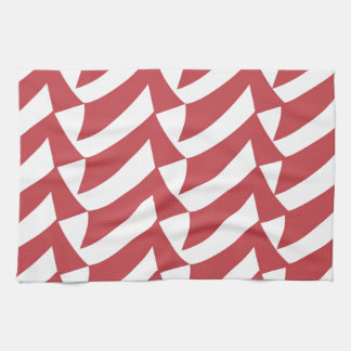 Wonderful Red And White Check Kitchen Towels Zazzle