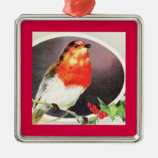 Holiday Red Bird ornament
