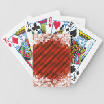 Holiday Red Custom Playing Cards Bicycle Playing Cards