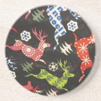 Holiday Reindeer Coaster
