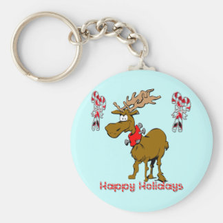 Holiday Reindeer Key Chains