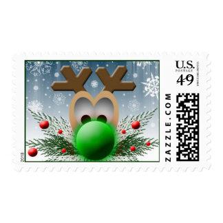 Holiday Reindeer USPS Christmas Stamp 2014