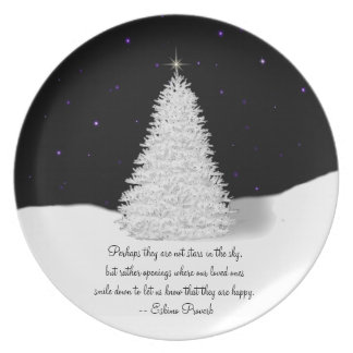 Holiday Remembrance Plate