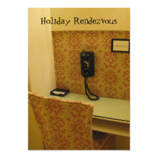 Holiday Rendezvous Card by RoseWrites
