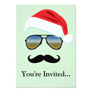 Holiday Retro Sunglasses w/ Mustache Card
