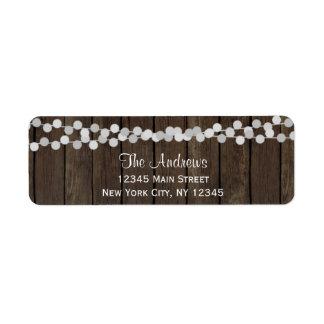 Holiday Return Address Labels