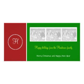 Holiday Ring Photo Card