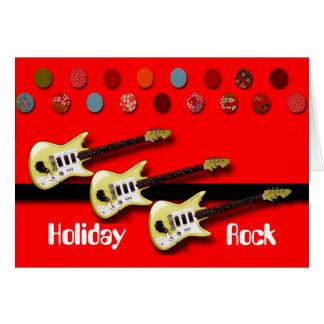 Holiday Rock Greeting Card