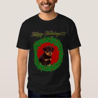 Holiday Rottweiler shirt