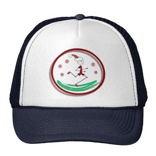 Holiday Runner Guy Trucker Hat