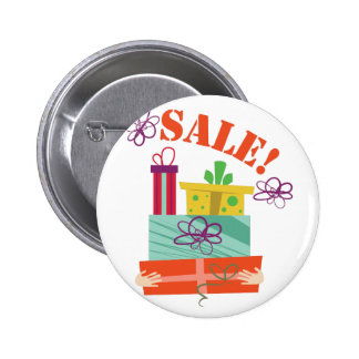 Holiday Sale Pinback Button