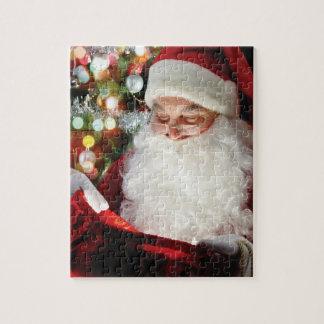 holiday santa puzzle