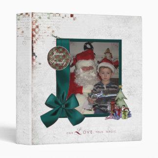 Holiday Scrapbook 3 Ring Binder