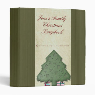 Holiday Scrapbook Binder