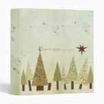 Holiday Scrapbook Vinyl Binders
