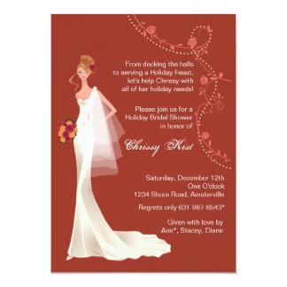 Holiday Season - Bridal Shower Invitation