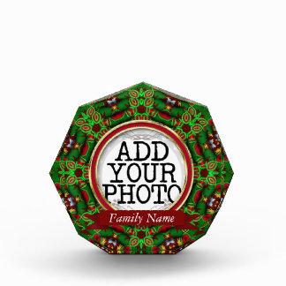 Holiday Season Custom Photo Keepsake Award