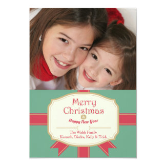 Holiday Sentiments Photo Card