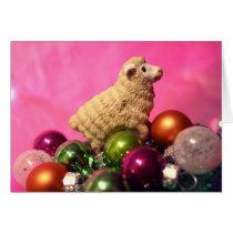 Holiday Sheep by Perpetual Fungus Card