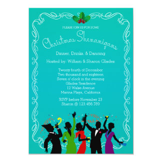 Holiday Shenanigans Christmas Party Invitation