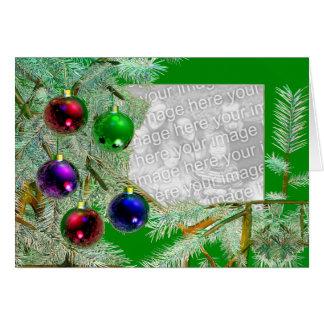 Holiday Shine (photo frame) Card