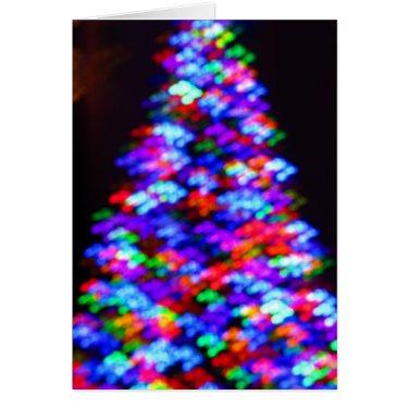 Holiday Shopping Tree Greeting Card