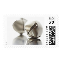 Holiday Silver Jingle Bells Postage