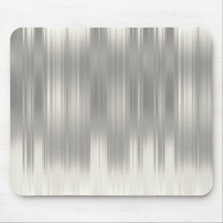 Holiday Silver Stripes Mouse Pad