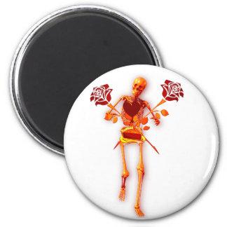 Holiday Skeleton Magnet