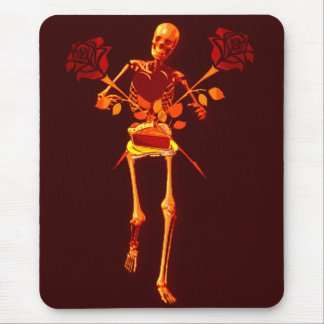 Holiday Skeleton Mouse Pad