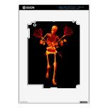Holiday Skeleton Skins For iPad 3