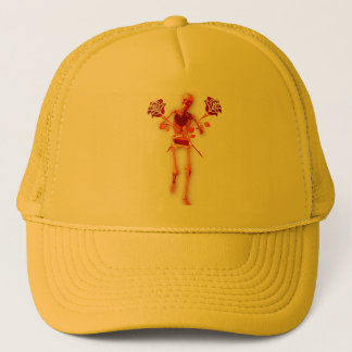 Holiday Skeleton Trucker Hat