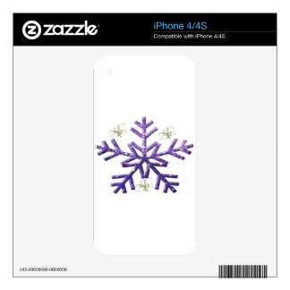 holiday decal for the iPhone 4