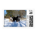Holiday Sleigh Stamps