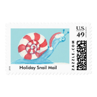 Holiday Snail Mail Stamp