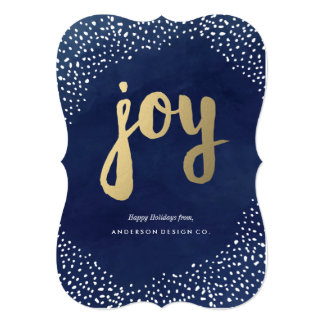 Holiday Snow Storm Corporate Holiday 5x7 Paper Invitation Card