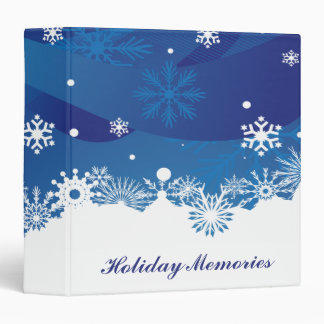 Holiday Snowfall Binder