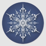 Holiday Snowflake Christmas Stickers
