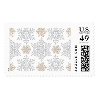 Holiday Snowflake Gold | Atelier Isabey Stamps