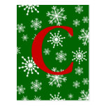 Holiday Snowflakes Postcards