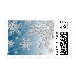 Holiday Snowflakes USPS Christmas Stamp 2014