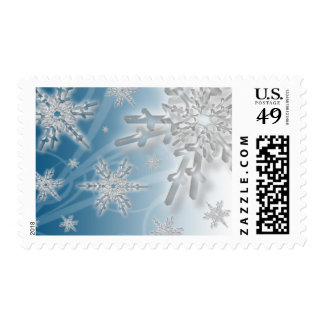 Holiday Snowflakes USPS Christmas Stamp 2017
