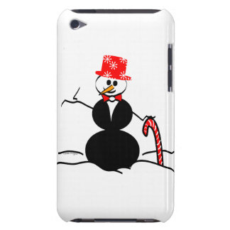 Holiday Snowman iPod Case-Mate Cases