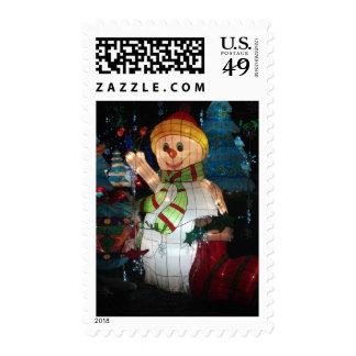 Holiday Snowman Stamps