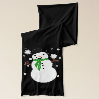 Holiday Snowman Scarf