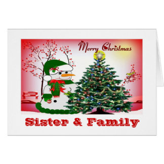 Holiday Snowmen Card
