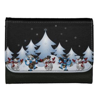 Holiday Snowmen Wallet