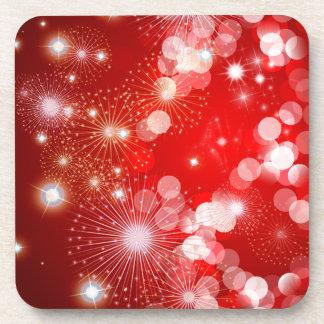 Holiday Sparkles Christmas Coasters