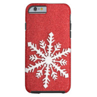 Holiday Sparkles Snowflake iPhone 6 case